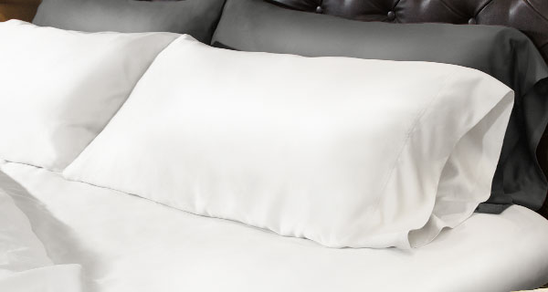 Finest 100% bamboo pillowcase set for luxuriously soft comfort