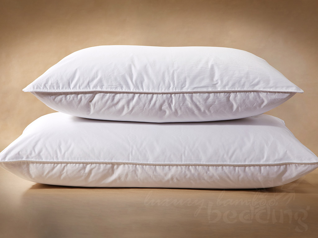 Finest Hutterite White Goose Down Pillows Free Shipping