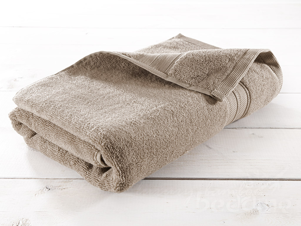 Flax (Tan) Bamboo Towels - Luxuriously plush, soft and absorbent