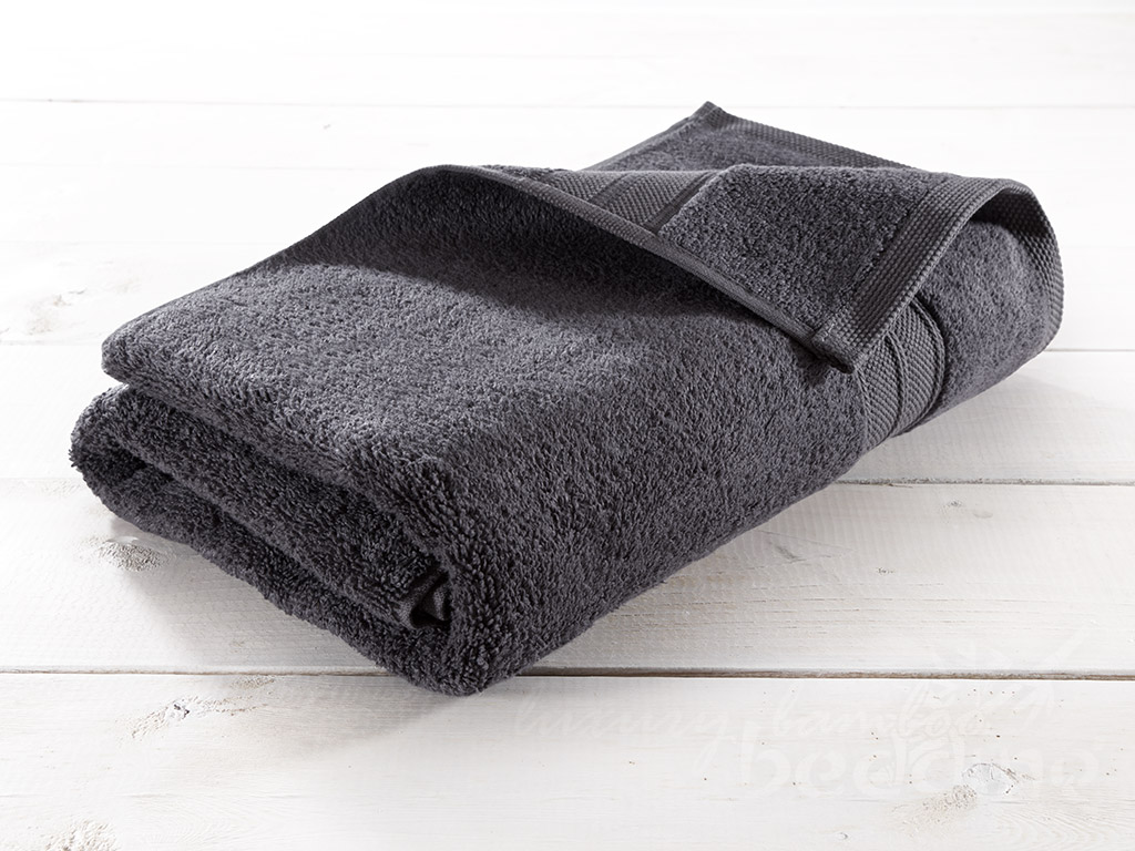 Charcoal Bamboo Towels - Luxuriously plush, soft and absorbent