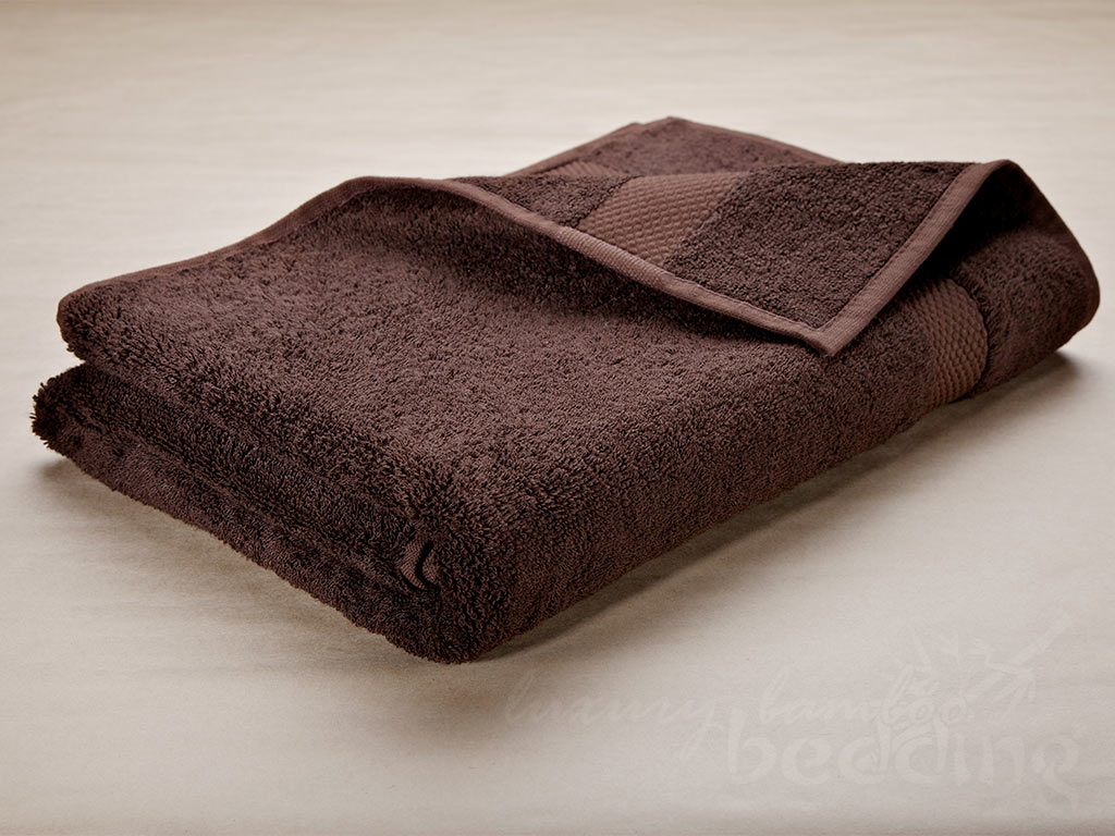White Bamboo Towels - Luxuriously plush, soft and absorbent