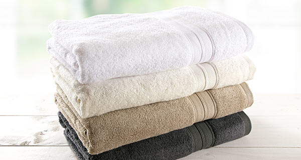 Bamboo Towels - Luxuriously soft and absorbent in 8 decor friendly colors