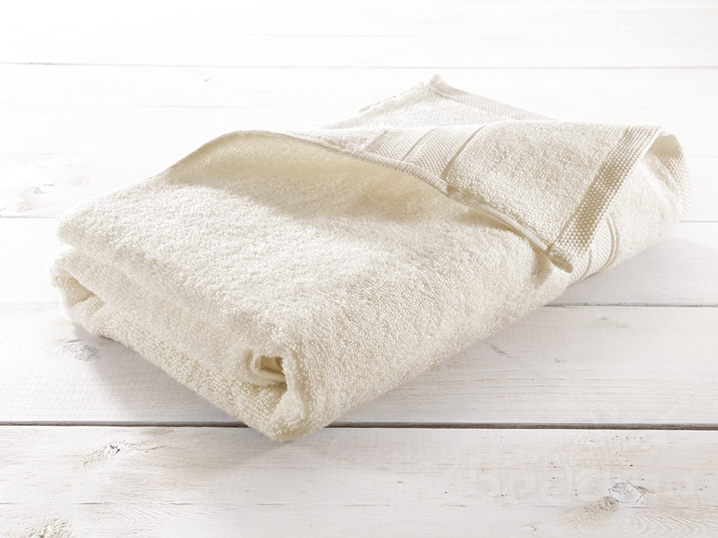 Ivory Bamboo Towels - Luxuriously plush, soft and absorbent