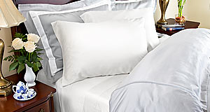 Bamboo Sheets - 500 Thread Count White - from LuxuryBambooBedding.com