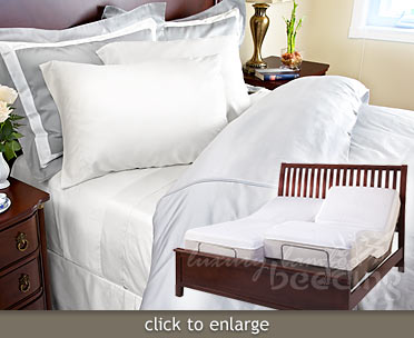 500 Thread Count Extra-Long Bamboo Twins from LuxuryBambooBedding.com