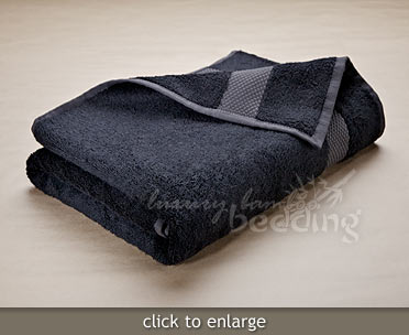 Charcoal Bamboo Towels from LuxuryBambooBedding.com