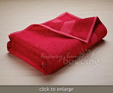 Garnet Bamboo Towels from LuxuryBambooBedding.com