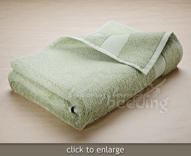 Moss Green Bamboo Towels from LuxuryBambooBedding.com