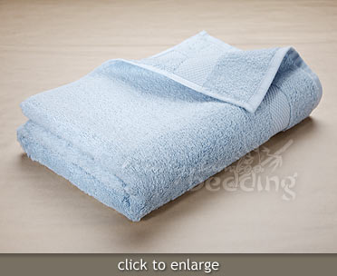 Sky Blue Bamboo Towels from LuxuryBambooBedding.com